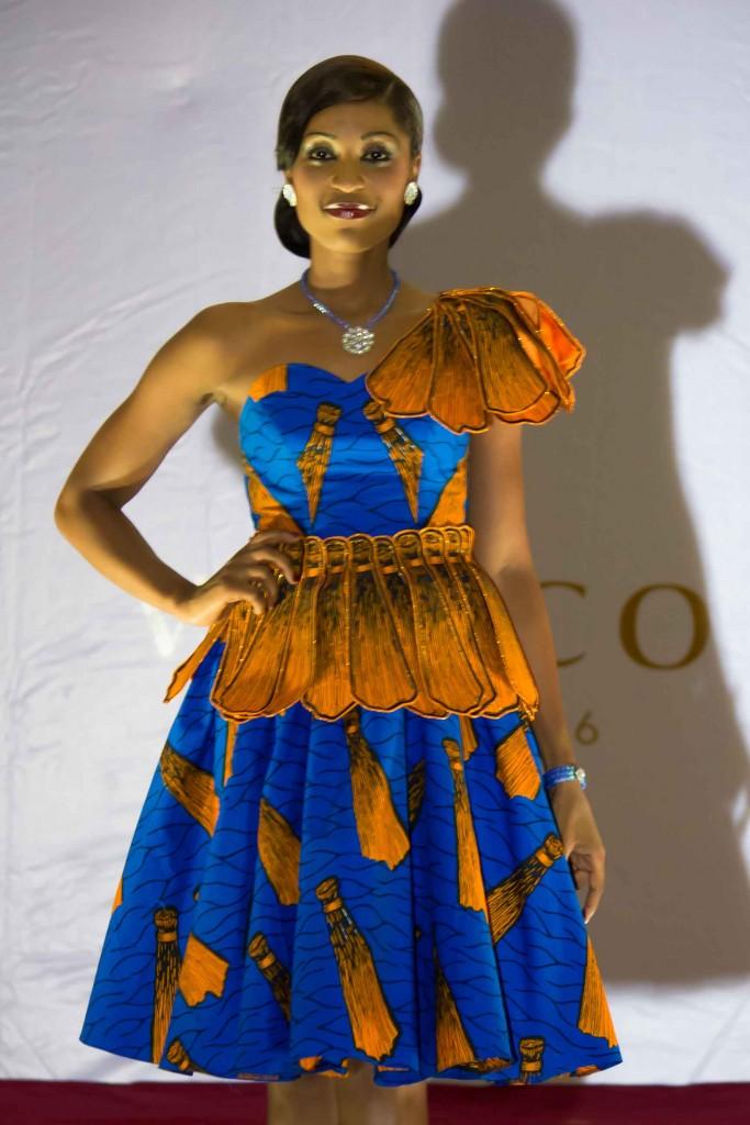 Ankara designs and styles Ankara flare gown Ankara short ...