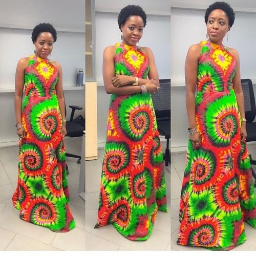 Choose from our large collection and albums of gorgeous Ankara Floor length long gown .  Don't waste time.